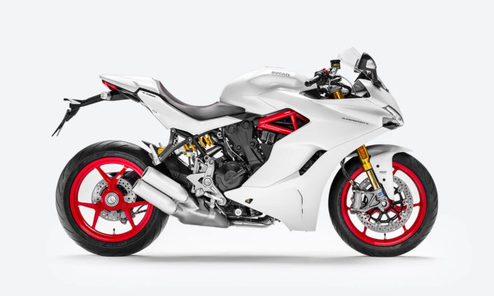 Ducati Super Sport S - Blanca