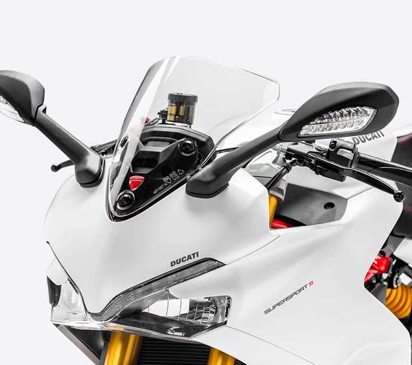 Ducati Super Sport Blanca Frontal